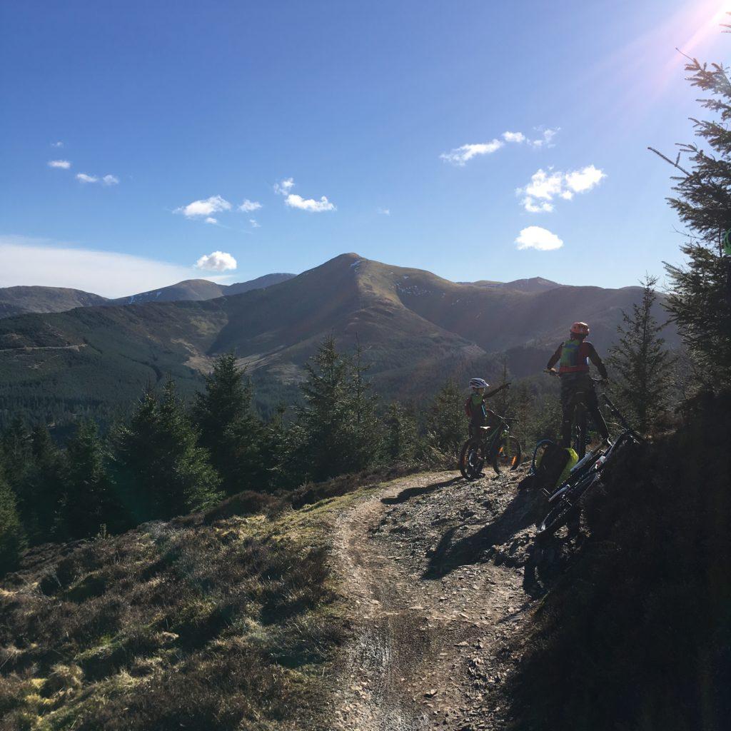 Cube Kid 240SL kids bike review - beautiful trails