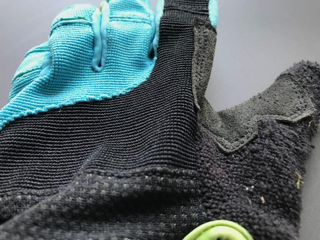 Polaris Tracker 2.0 Kids Trail MTB Cycling Glove mesh back review test