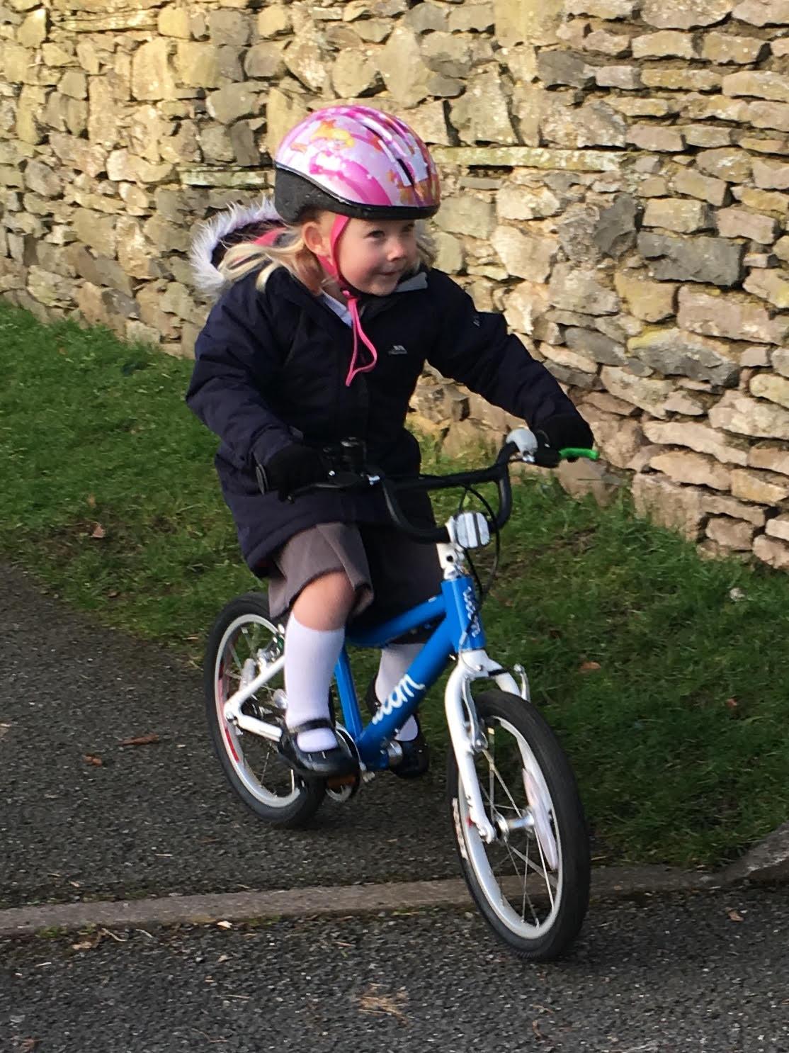 "Woom 3 16"" wheel bike review - the bike in action"