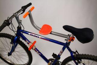 Tyke Toter front bike seat for older children