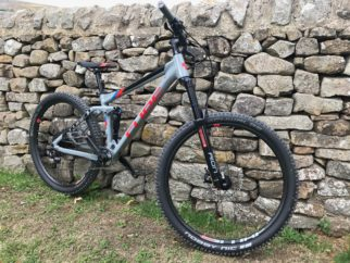 Cube Stereo Youth 140 full suspension kids mountain bike