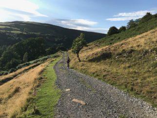 Swale Trail near Gunnerside - nice descent