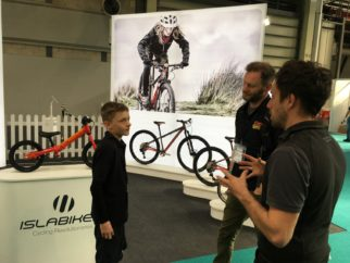 Interviewing Islabikes at teh 2018 Cycle Show