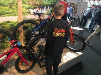 Cube's new ebikes and mountain bike