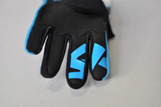 ShredXS mountain biking gloves for a 3 year old