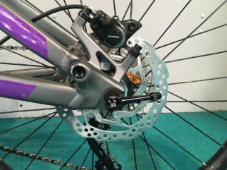 Disc brakes on the Marin Hawks Hill JR kids mountain bike