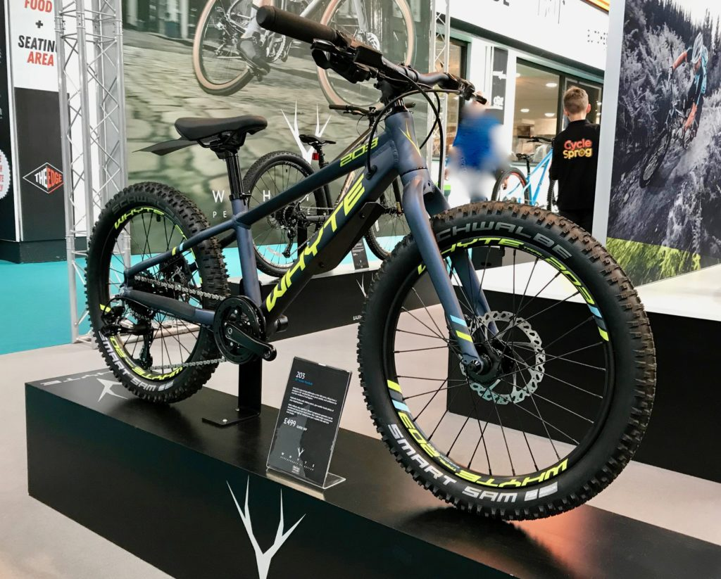 """Whyte 203 mtb with 20"""" wheels"""