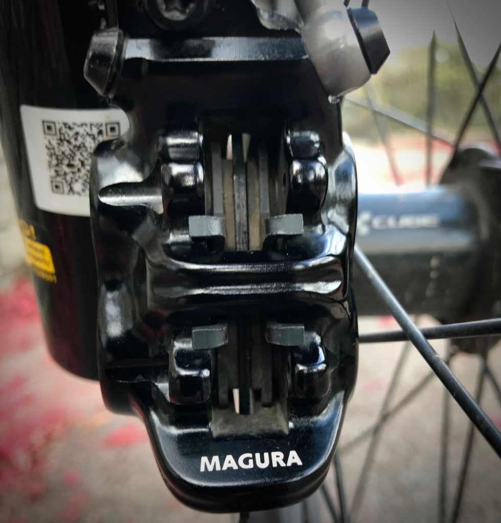 Cube Stereo 140 Youth - Magura disc brakes with magnetic pads