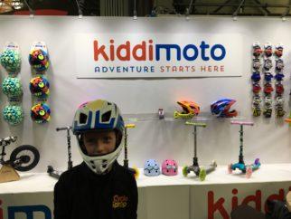 Kiddimoto full face kids helmet