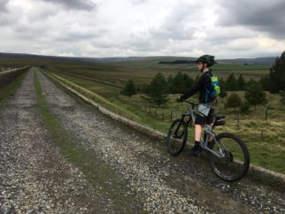 Review of the Cube Stereo 140 Youth riding in West Yorkshire