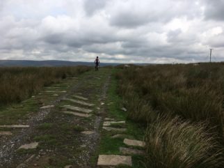 Testing the Frog MTB 69 on the cross country bridleways above Hebden Bridge