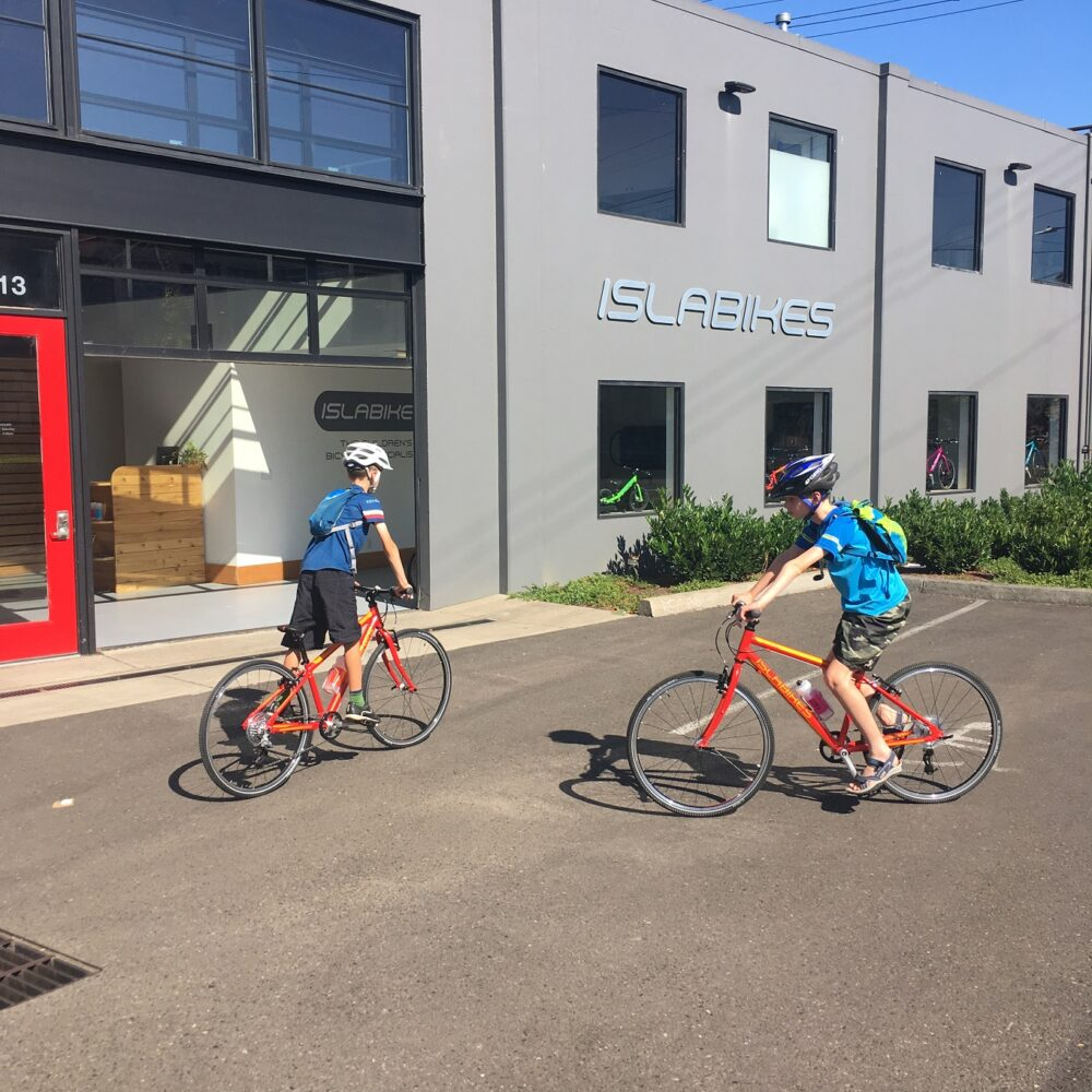 isiting the Islabikes Portland HQ USA