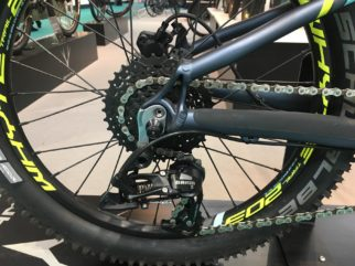 Whyte 203 rear wheel and gearing