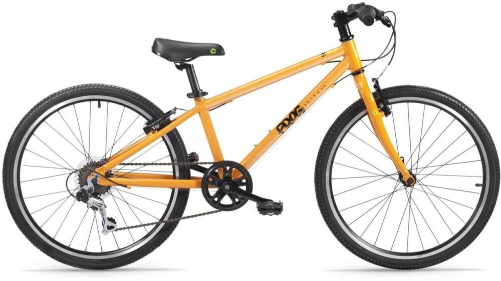 """Frog 62 in Orange - one of the best kids bikes with a 24"""" wheel for children aged 7 to 10 year old"""