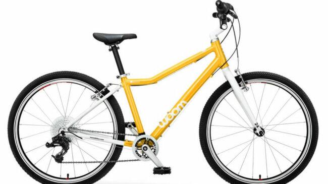 "Woom 5 24"" wheel kids bike for children aged 7 to 9 years"