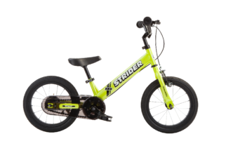 Strider 14X balance bike that becomes a pedal bike