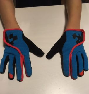 Review of Cube kids mountain bike gloves