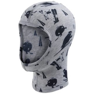 Odlo face mask for keeping a child head warm under their cycle helmet
