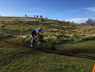 Riding my first U14's cyclocross race