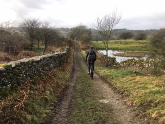 Riding the Laura Trott MTB 1 in the Lake District
