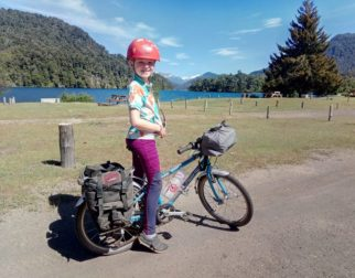 Bikepacking with kids in South America