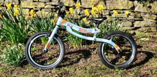 Cycle sprog Skog balance bike that grows with your child into a pedal bike