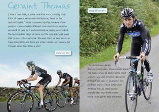 Geraint Thomas Tour de France book for kids