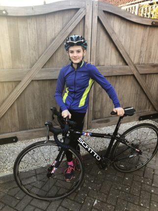 Girls on bicycles - Matilda Harries