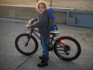Girl on a bike - having fun on bikes is part of childhood