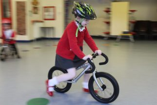 Girls on bicycles - Fit 2 Learn