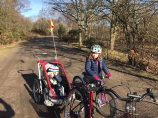 Girls on bicycles - riding all year round