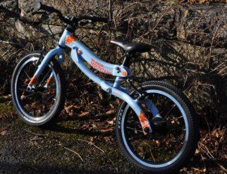 Skog Review - balance bike mode
