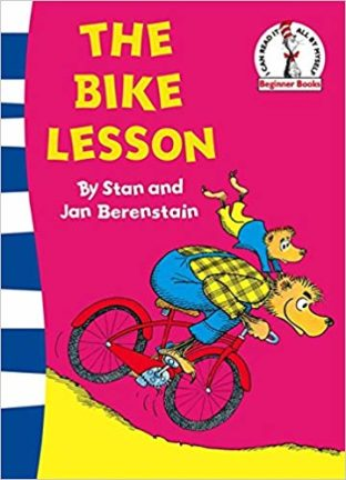 The Bike Lesson children's learn to read book about cycling