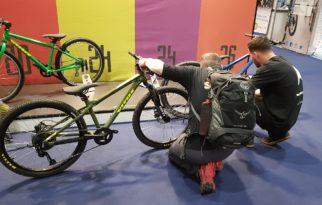 Closer look at the Vitus kids bikes at the London Bike Show
