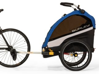 Burley D'Lite Single Seat child bike trailer