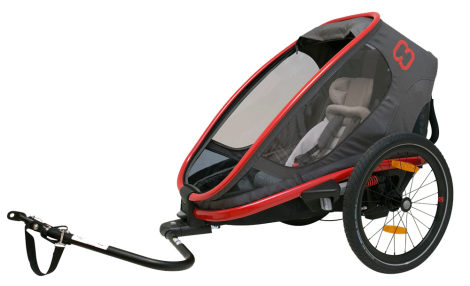 Hamax One Single Seat reclining trailer
