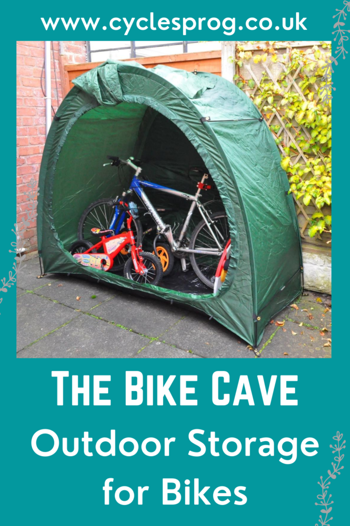 Tent for storing bikes outside throughout the winter
