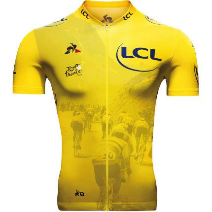 Tour de France Jaune Col jersey
