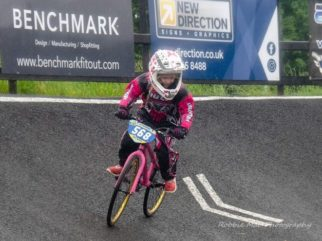 Family BMX biking in Lisburn Ireland