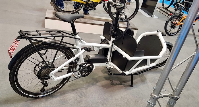 family cargo bikes at the 2019 Cycle Show - Riese & Muller Load