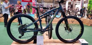 Whyte T120 teenage mountain bike at the 2019 Cycle Show