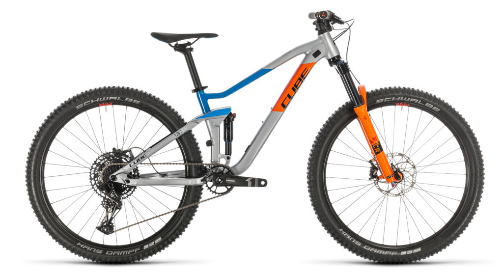 Cube Stereo 120 Youth - one of the best mountain bikes for teenagers around