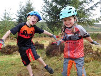 ShredXS jump for joy - kids mountain bike clothing