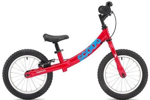 "Ridgeback Scoot XL Balance Bike is a large 14"" wheel balance bike for older and taller children"