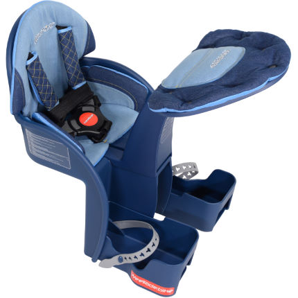 Wee RIde Safe Front bike seat for a toddler