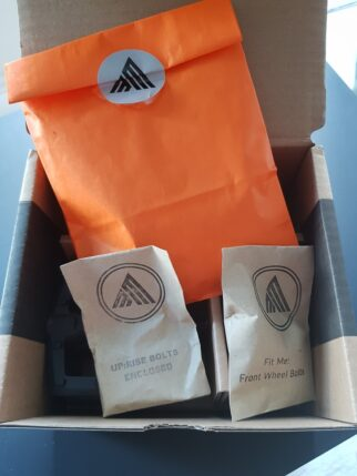 Black Mountain Bikes plastic free packaging