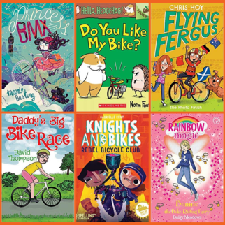 2019 - Best kids books about cycling