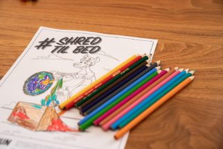 Colouring in with your kids