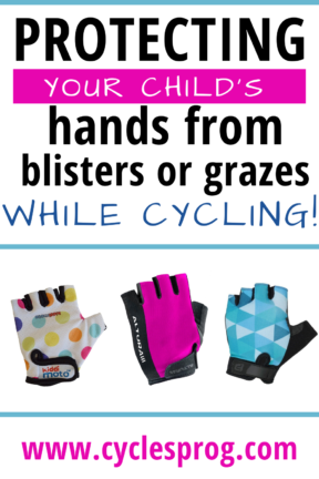 TThe best summer cycling gloves for small children's hands - cycling mitts and short fingered cycling gloves for kids