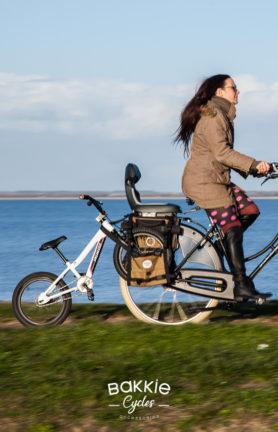 Pannier to pull a kids bike Bakkie Panniers